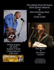 2014 Zydeco Kickoff and Birthday Party